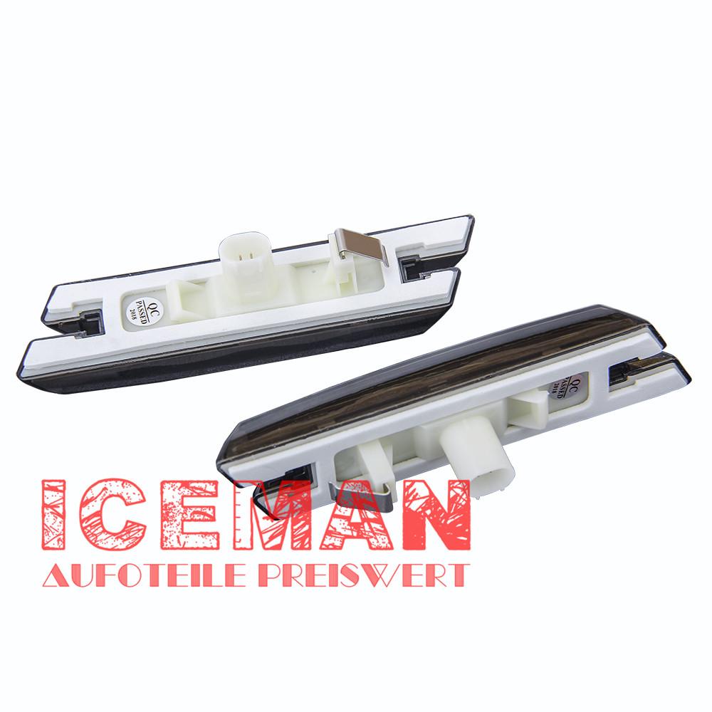 Carbon Seitenblinker Seitenbeleuchtung LED BMW 1er E81 E82 E87 E88 X3 E83 2011
